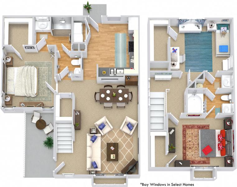 Floor Plans Of Bexley At Davidson In Davidson Nc