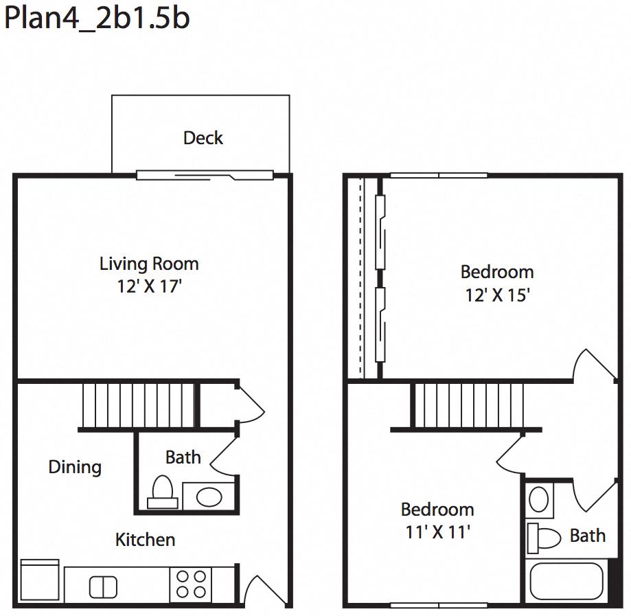 1 & 2 Bedroom Apartments in Everett, WA