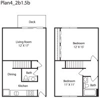 1 & 2 Bedroom Apartments in Everett, WA | Floor Plans