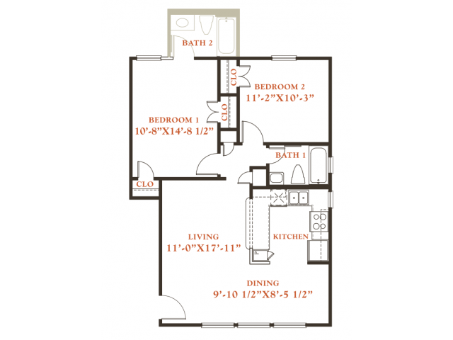 Floor Plans Of Britain Way Apartments In Irving Tx