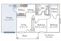 Floor Plans of Senior Apartments in Terre Haute