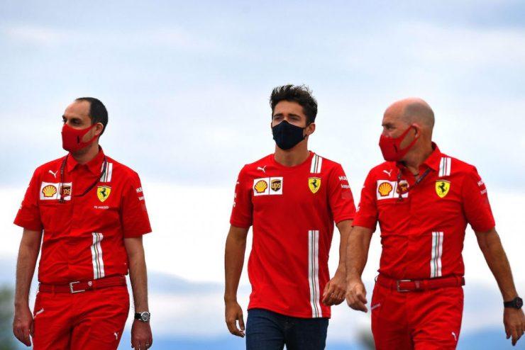 Leclerc, GP da Hungria 2020