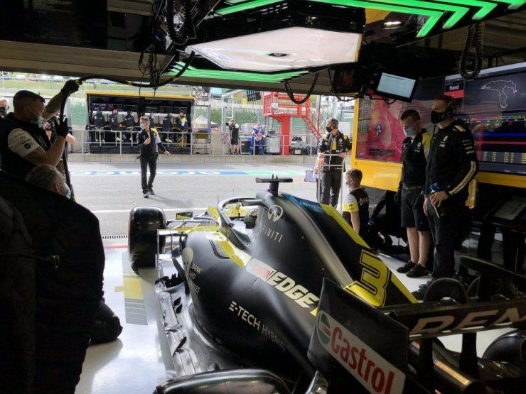 Daniel Ricciardo, Renault, GP da Bélgica 2020,