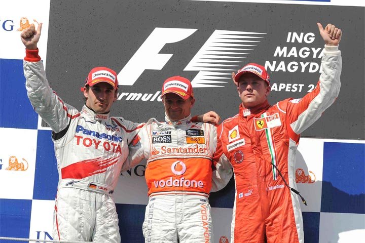 HEIKKI KOVALAINEN; MCLAREN; 2008; GP DA HUNGRIA;