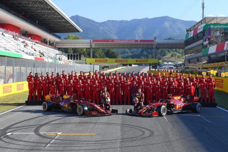 Ferrari no GP da Toscana