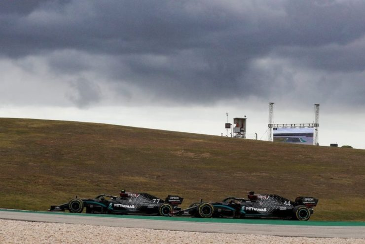 Valtteri Bottas, Lewis Hamilton, Mercedes, GP de Portugal 2020,