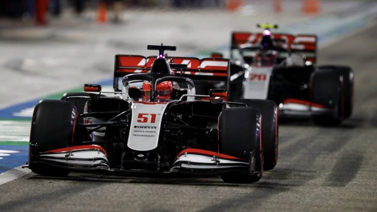 Pietro Fittipaldi, Haas, GP de Sakhir 2020,