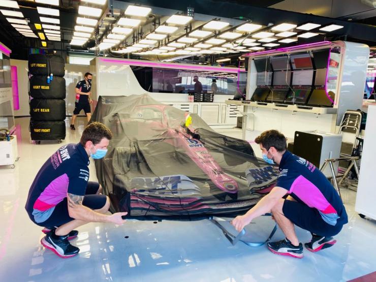 Racing Point, GP de Abu Dhabi 2020,