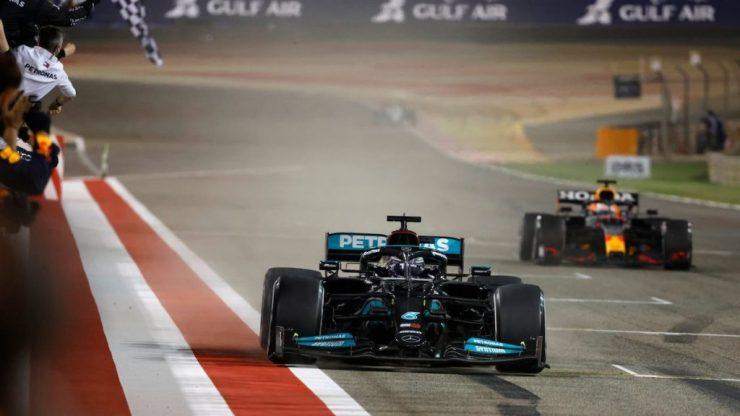 Lewis Hamilton, Max Verstappen, GP do Bahrein 2021,
