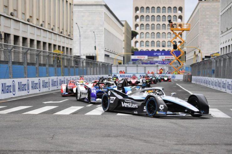 Fórmula E, ePrix Roma 2021,
