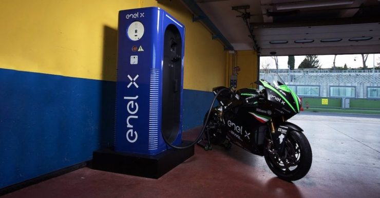 MotoE, moto elétrica, Enel X
