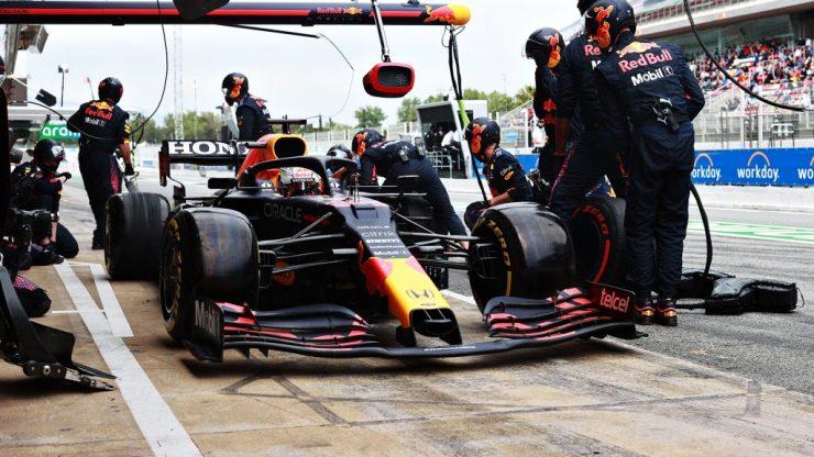 Estratégia: o GP da Espanha foi definido nos acertos e, principalmente, nos erros nos boxes (Foto: divulgação / Red Bull Racing)