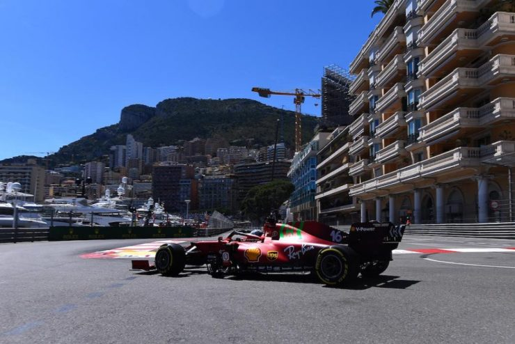 Charles Leclerc, Ferrari, GP de Mônaco 2021,