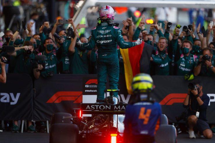 Sebastian Vettel, Aston Martin, GP de Baku 2021,