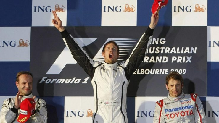 DOBRADINHA; BRAWN GP; 2009; GP DA AUSTRÁLIA;