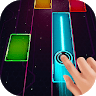 download Glow Tiles - Music Piano , over 260 songs in space apk