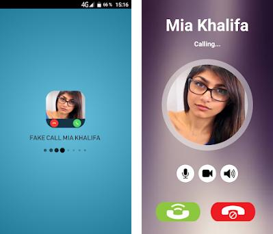 Fake Call:Mia Khalifa on Windows PC Download Free - 1 0 - toto