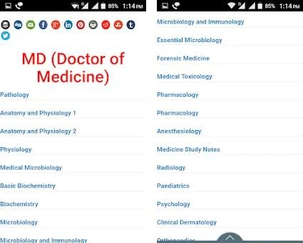 Doctor Study Notes 1 1 apk download for Android • info therithal