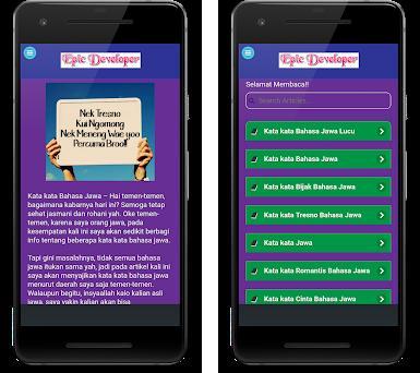 Kata Kata Bahasa Jawa Lucu Cinta Dan Romantis 2 0 Apk Download For