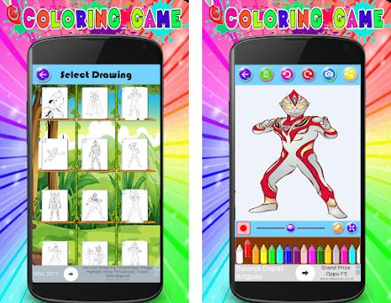 Coloring Game Of Ultraman Zero New On Windows Pc Download Free 10