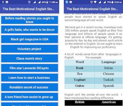 Best Motivational English Stories 18 11 17 apk download for
