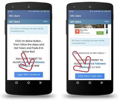 MG Liker 1 0 apk download for Android • com altaramus altaramus