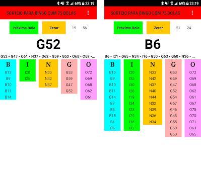 Sorteador para Bingo 75 bolas 1 08 apk download for Android • com