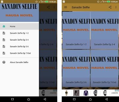 Sanadin Selfie - Hausa Novel 4 1 apk download for Android