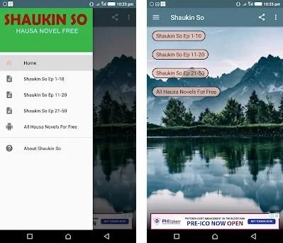 Shaukin So - Hausa Novel 5 4 apk download for Android • com andromo