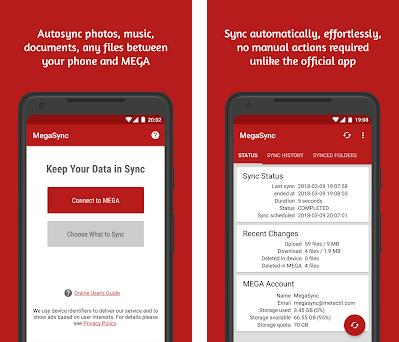 Autosync for MEGA - MegaSync 4 3 4 apk download for Android