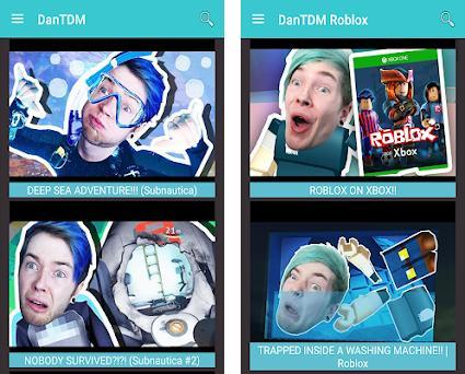 DanTDM 1 0 apk download for Android • dantdm videos dan tdm apps