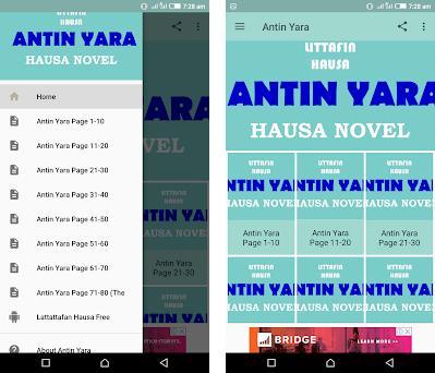 Antin Yara - Hausa Novel 5 1 apk download for Android • com andromo