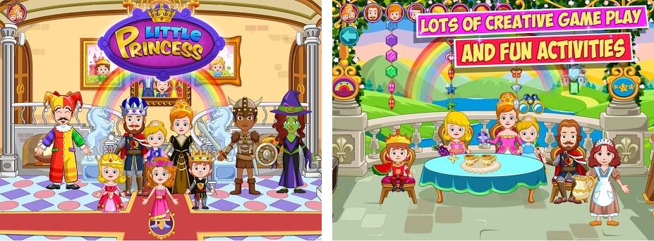 My Little Princess : Castelo Imagem da captura de tela