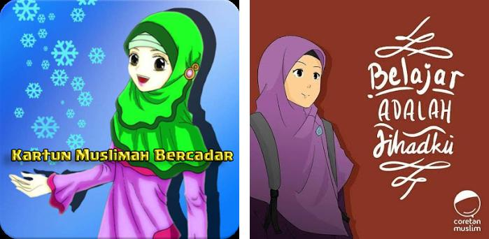 Kartun Muslim Bercadar Jaman Now 11 Apk Download For Android Com