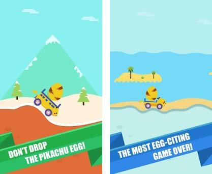 Pikachu Car Don T Drop The Egg 1 1 Apk Download For Android Com