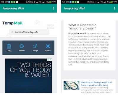 Temporary Mail - Disposable 1 0 apk download for Android • com