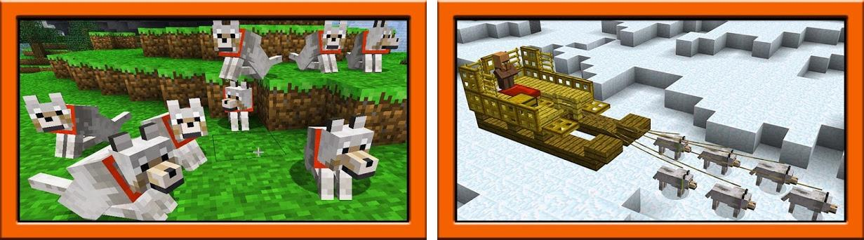 Dogs mod for minecraft pe 2 3 2 apk download for Android