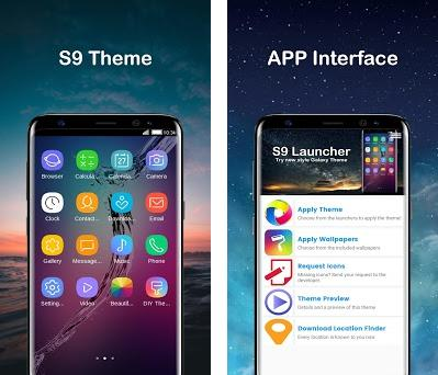 Super Samsung Galaxy 9 Launcher Pro 2018 1 2 1 apk download for