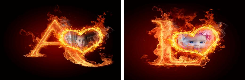 Fire Text Photo frames 1.0.1 apk download for Android • com ...