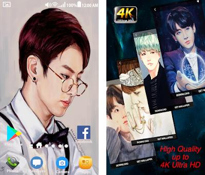 Kpop Bts Fan Art Wallpapers Hd 10120022018 Apk Download