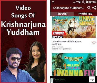 krishnarjuna yuddham video songs free download