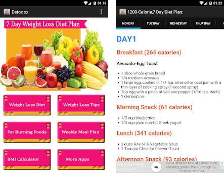 7 day Detox diet plan 1 0 0 apk download for Android • com lambardo