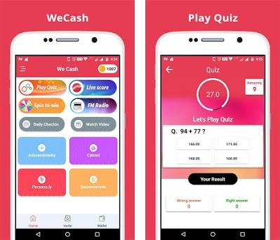 We Cash - Earn Real Money 1 8 apk download for Android • com