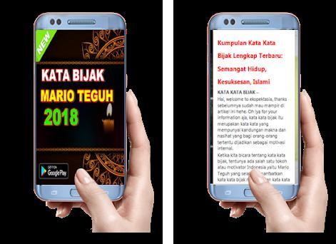 Kata Bijak Mario Teguh 2018 1 0 Apk Download For Android Com