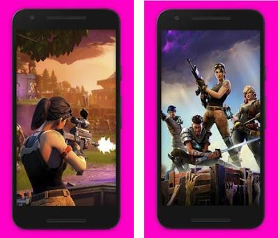 App Preview. Fortnite Battle Royale Wallpaper Preview Screenshot