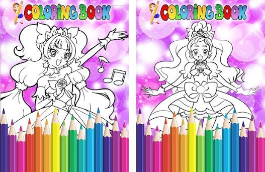How To Color Pretty Cure - Coloring Book Free 1 apk download for ...