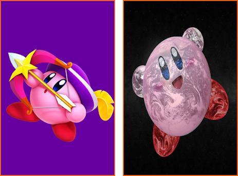 Cute Kirby HD Wallpaper Preview Screenshot