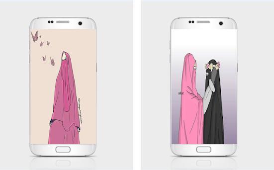 5500 Gambar Kartun Muslimah Inspirasi HD