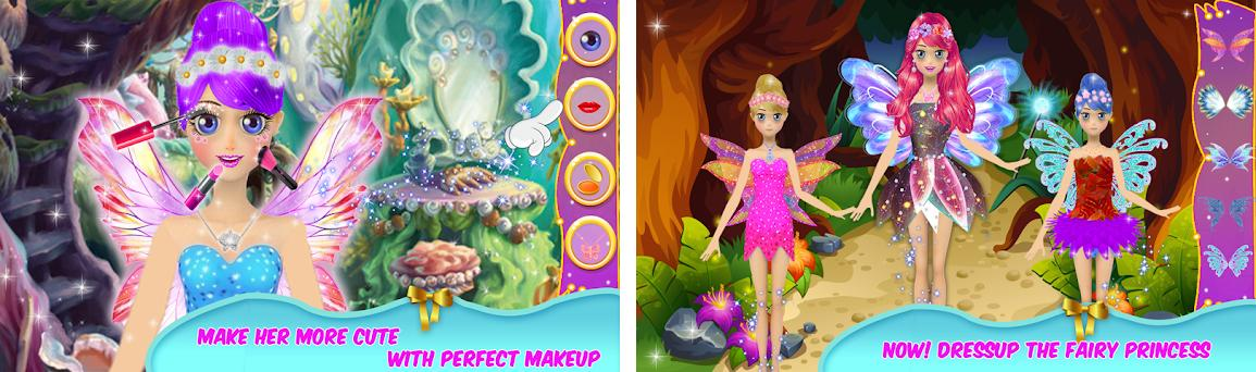 Royal Fairy Tale Princess Makeup Game Free preview screenshot