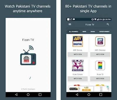 All Pakistani TV Channels Free - Fizan TV 2 8 2 apk download